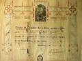 Diploma escolar 1917