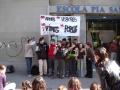 2002 manifestacio contra la guerra batxillerat