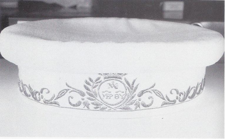 gorra de l'uniforme dels escolapis. Finals s.XIX principis del s.XX
