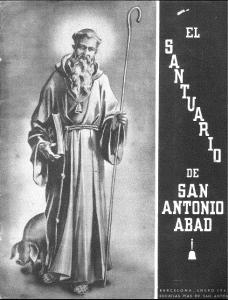 Revista santuario san antonio abad 1940s