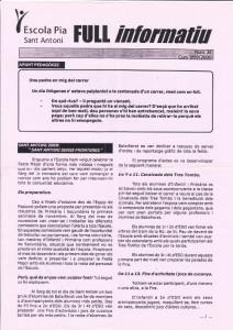 1999 - 2000 Full informatiu