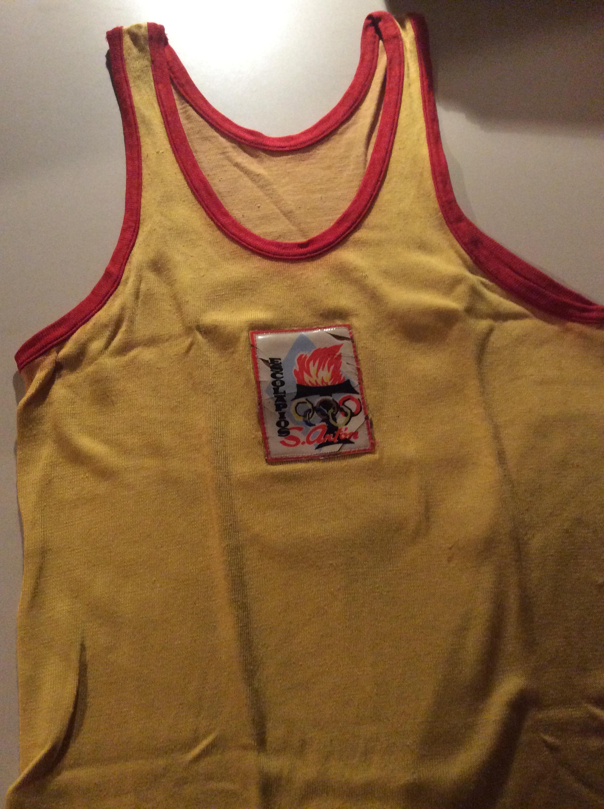 samarreta basquet anys 60