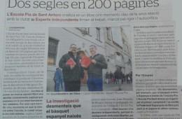 Dos segles en 200 pàgines El Periódico 7-3-2016 (Mobile)